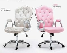 Multi Color Luxury Royal PU Home Computer Chair velvet Fabric Middle Back Manager Chair Modern Ergonomic Office Task Chair _ {categoryName} - AliExpress Mobile Version - Balcony Table And Chairs, Bar Chairs, Dining Chairs, Side Chairs, Home Office Decor, Office Furniture, Home Decor, Eames Rocking Chair, Adirondack Chairs For Sale