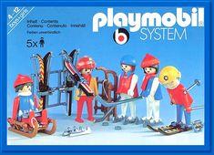 PLAYMOBIL set #3561 - 5 Skiers