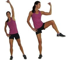 Standing Ab exercises!,, Great core use!