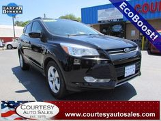 2013 FORD ESCAPE -- With ONLY 48,713 MILES! -- SUNROOF! -- EcoBoost! -- Up To 33 MPG! -- Price INCLUDES A 3 MONTH/3,000 Mile WARRANTY! -- CALL TODAY! * 757-424-6404 * FINANCING AVAILABLE! -- Courtesy Auto Sales SPECIALIZES In Providing You With The BEST PRICE On A USED CAR, TRUCK or SUV! -- Get APPROVED TODAY @ courtesyautosales.com * Proudly Serving Your USED CAR NEEDS In Chesapeake, Virginia Beach, Norfolk, Portsmouth, Suffolk, Hampton Roads, Richmond, And ALL Of Virginia SINCE 1976!