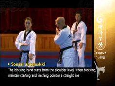 Instructions for WTF Taekwondo Form 7 (Taegeuk Chil Jang) - Black Belt Wiki