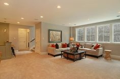 New Construction Edina Arden Park - traditional - basement - minneapolis - by Great Neighborhood Homes