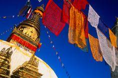 Imagen: Swayambhunath Stupa (© Grant Taylor/Getty Images)