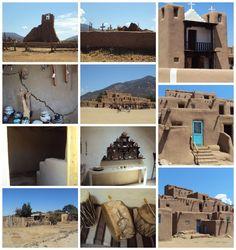 Pueblo village in New Mexico
