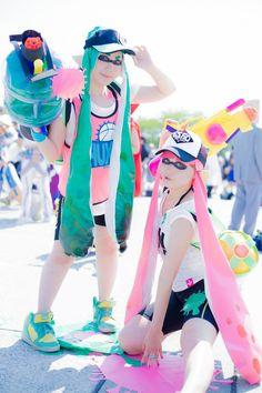 Splatoon!!! - hayashi(はやし) Girl Cosplay Photo - Cure WorldCosplay