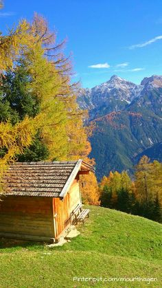 autumn in the Stubai valley, Austria.this was a fantastic hike from hut to hut. The Beautiful Country, Beautiful World, Visit Austria, Autumn Scenery, Central Europe, World Of Color, Great View, Wonderful Places, Places To See