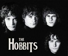 Frodo, Sam, Merry and Pippin.