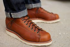 "Original Chippewa 5"" Bridgemen Boot Copper Caprice"