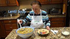 Italian Grandma Makes Lentil Soup Dinner Soup – Dinner Recipes Best Italian Recipes, My Recipes, Cooking Recipes, Cooking Pasta, Chili Recipes, Recipies, Dessert Recipes, Favorite Recipes, Youtube Cooking
