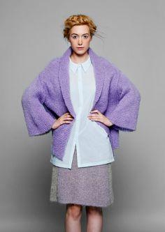 falda punto bicolor por OddOneOutDesign en Etsy