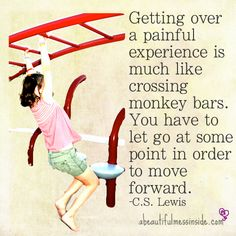 Let go in order to move forward