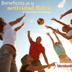 ¿Sabías que la actividad física es esencial para la salud y la prevención de enfermedades? Es importante para todas las personas y contribuye a mejorar la calidad de vida. Con Verotonil ¡Activa tu energía! #SaludyBienestarBagó #Verotonil