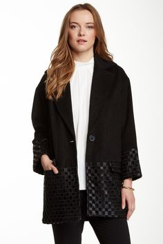 Helena Wool Blend Coat by Catherine Malandrino on @nordstrom_rack