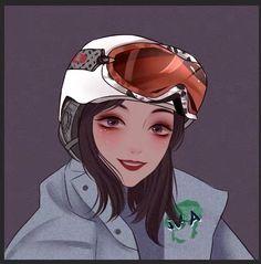 turn photo into cartoon portrait Kawaii Anime Girl, Anime Art Girl, Manga Girl, Manga Anime, Girl Cartoon, Cartoon Art, Character Inspiration, Character Art, Badass Drawings