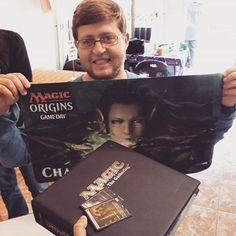 The winner of today's Origins Game Day: Daniel Pretorius!