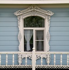 """Nalichnik"" - Wooden window frame. Russia"