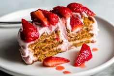Strawberry Gingersnap Icebox Cake Recipe - NYT Cooking