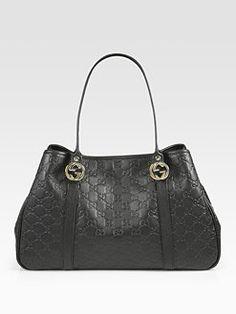 Gucci - GG Twins Guccissima Medium Tote Bag