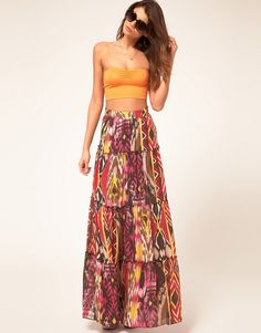 Summer Maxi Skirt By Perfect Stranger | Trendy Ladies Clothes