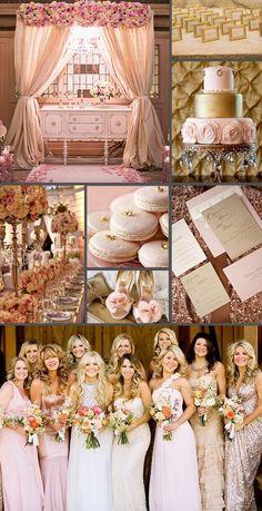 Pink & Gold Wedding Inspiration
