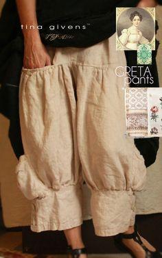 Sewing Pattern: Tina Givens Printed patterns