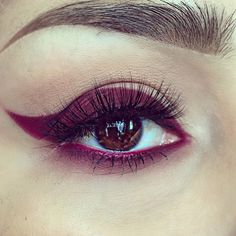 Shop Melt Cosmetics pigmented & bold makeup for lips & eyes. Cat Eye Eyeliner, Eyeliner Looks, Pencil Eyeliner, Burgundy Makeup Look, Burgundy Eyeshadow, Kiss Makeup, Eye Makeup, Hair Makeup, Makeup Stuff