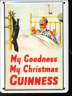 in traditional Guiness fashion...