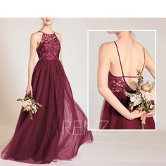 Bridesmaid Dress Ink Blue Tulle Dress Wedding Dress Criss Cross Straps Maxi Dress Illusion Lace Back Prom Dress A-Line Evening Wine Bridesmaid Dresses, Prom Dresses, Formal Dresses, Wedding Dresses, Tulle Dress, Sequin Dress, Strapless Dress, Dress Red, Chiffon Maxi