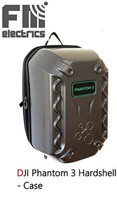 Rucksack für DJI Phantom 3, Professional, Advanced, Hardshell Case, Hardcase