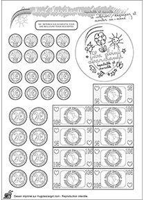 12 Beste Afbeeldingen Van Rekenen Geld Numeracy Coins En Preschool