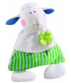 Cotti Spelt Cushion Pure Nature - Organic Soft Toy - These little snuggling soft lambs are very special! They accompany their little owners from their very first day. The little lambs make falling asleep easier, always join in playing and occasionally also dry tears. $28.99