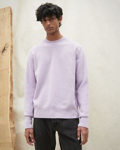 Made from a light and comfortable lilac fluffy wool, the Virote sweater adds comfort to your wardrobe in a stylish manner with a slightly oversized fit. Modern Bohemian, Wool Felt, Wool Blend, Lilac, Women Wear, Sweater, Stylish, Fitness, Model
