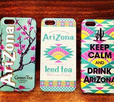 Left one, nice WITHOUT arizona!! Arizona is Delicious but not nice for a phonecase!