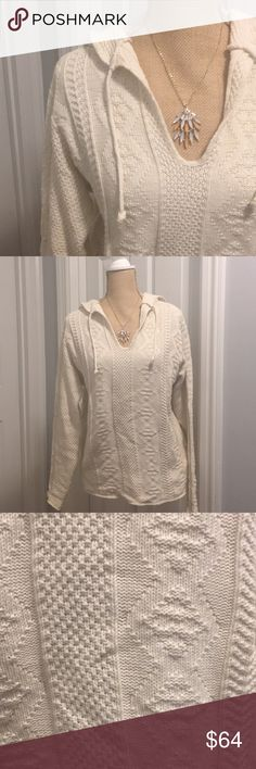 New Binghamton Knitting Co. Inc Cable Knit Sweater Adorable Cable Knit Sweater (high quality custom knitwear), size X Small. Made in the USA! 100% Cotton Binghamton Knitting Co. Inc. Sweaters V-Necks