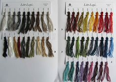 Color Sample Card for Létt-Lopi. Shade Card, Icelandic Sweaters, Warm And Cozy, Knitting, Creative, Design, Color, Threading, Tricot