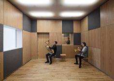 danish music museum conversion - copenhagen - adept + creo + niras - 2014 - brass room - photo stamers kontor + kaare viemose