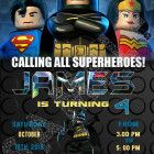 lego batman invitations lego birthday invitations lego batman invite Welcome to Best Birthday Party This is a s Lego Batman Movie Birthday invitation will be a perfect addition to celebrate Lego Batman Invitations, Lego Birthday Invitations, Custom Invitations, Lego Batman Party, Superhero Birthday Party, Ninjago Party, Lego Ninjago, Invite, How To Memorize Things