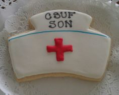 Nursing hat cookie