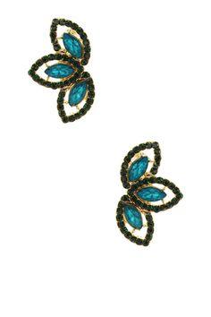 Dana Crystal Earrings by Olivia Welles