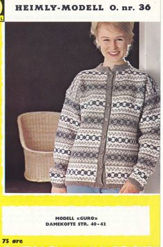 Guro Colour Combinations, Knitting Patterns, Sweaters, Color, Fashion, Color Combos, Moda, Knit Patterns, Fashion Styles