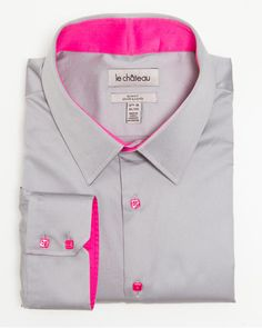 Cotton Slim Fit Dress Shirt