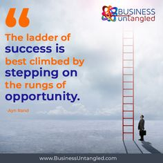 Find opportunities wherever you can and let yourself grow beyond your potential! 🔎 🤝 📊 Visit our website to get our FREE Embrace Risk ebook and be inspired how. 🎁 📖 👍 Visit www.businessuntangled.com . . . . . . #business_untangled #successmindset #successcoach #successtips #mondaymotivation #mondaymood #mistakes #failures #TakingRisks Success Coach, Success Mindset, Ayn Rand, Take Risks, Monday Motivation, Mistakes, Opportunity, Things To Come, How To Get