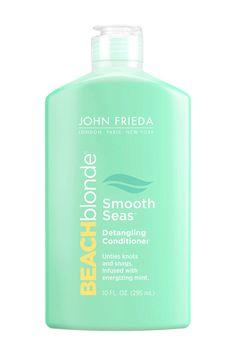 John Frieda Beach Blonde Smooth Seas Detangling Conditioner, $9.99, available at Ulta Beauty.