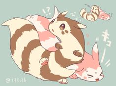 furret y furret shiny Pokemon Oc, Pokemon Ships, Pokemon Fan Art, Cute Pokemon, Pokemon Human Form, Powerful Pokemon, Popular Pokemon, Pokemon Pictures, Cute Cartoon Wallpapers
