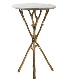 Another great find on #zulily! Marble Top Table #zulilyfinds