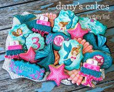 Mermaid Party ~ Mermaid cookies from Dany's Cakes via Facebook