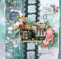 Swirlydoos Scrapbook Kit Club: More projects with the wonderful February kit with Maggi Harding.
