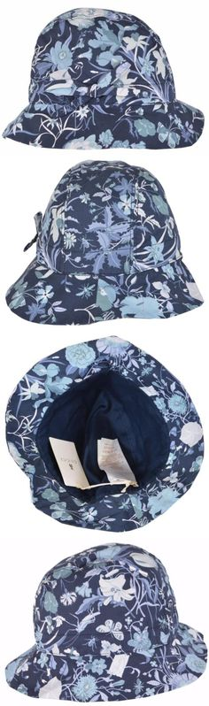 b6d543c0551 Hats 15630  New Gucci Kids Girl S 372119 Flora Flora Canvas Bucket Fedora  Hat L -  BUY IT NOW ONLY   75.68 on eBay!