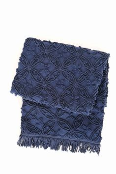 Candlewick Ink Throw design by Pine Cone Hill
