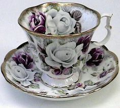 Royal Albert American Beauty Rose Teacup, You can enjoy morning meal or various time intervals using tea cups. Tea cups also have decorative features. Once you go through the tea pot designs, you will see this clearly. Tea Cup Set, My Cup Of Tea, Tea Cup Saucer, Café Chocolate, Teapots And Cups, China Tea Cups, Vintage China, Vintage Teacups, Tea Sets Vintage